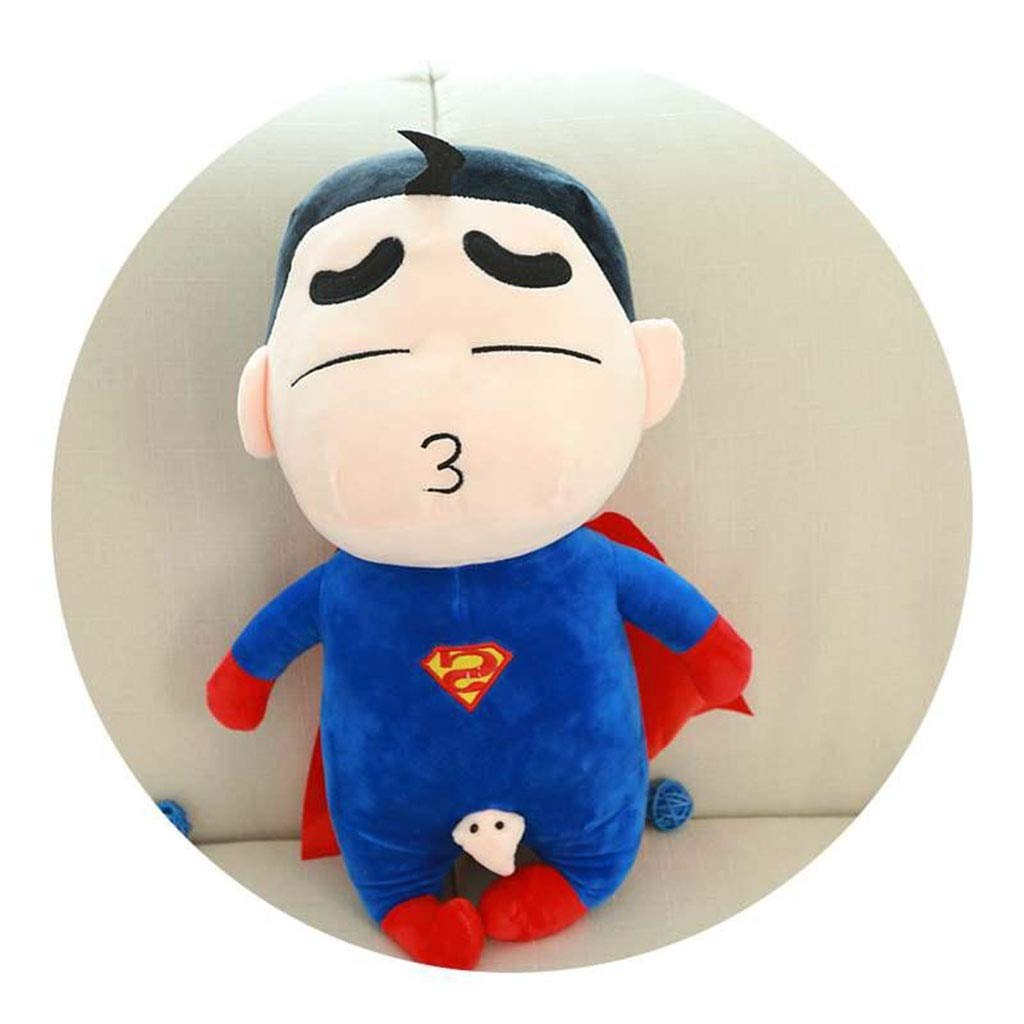 Superman 65cm SSRS Avengers Puppen Spiderman Superman Plüschtiere Superhelden (Farbe   Superman, größe   65cm)