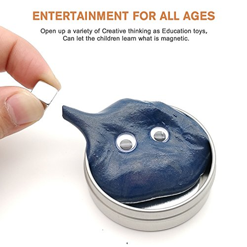 Magnetic slime is a strange kids toy that they love