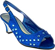 Girl Evening Sandal Rhinestone Dress-Shoes ck-41