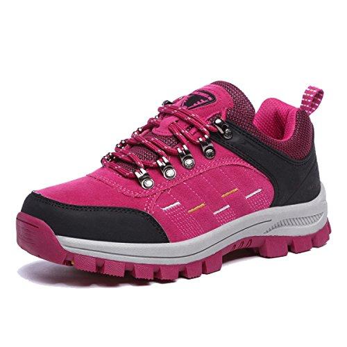 Zapatos Para Caminar Al Aire Libre Deslizamiento De Los Hombres De Gran Tamaño De Varios Colores De Varios Tamaños Red