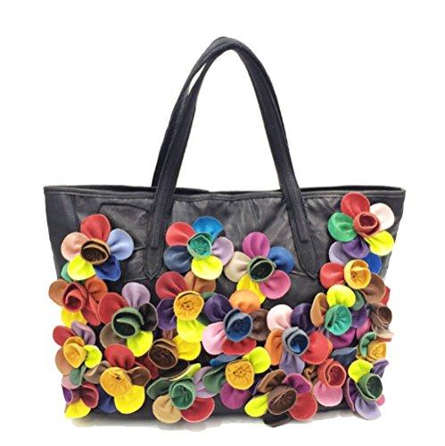 Printemps Pour Femme Assorti Fleurs Multicolore élégant Et Sac Sac Coloris à Sac été AJLBT Bandoulière Main à Bandoulière 5BqtwZx6
