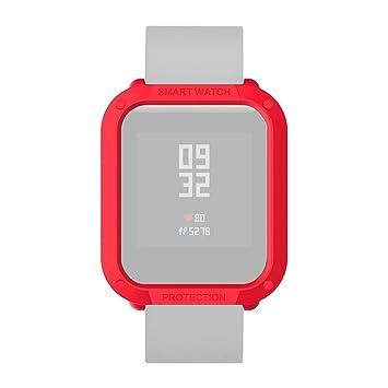 Qomomont Protector Funda Compatible con Reloj Amazfit Bip ...
