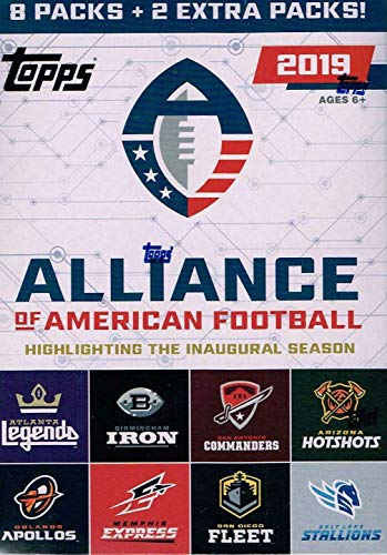 (Topps 2019 Alliance of American Football - Value Box)