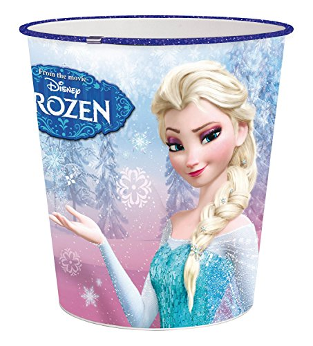p:os 24678 Papierkorb Disney Frozen, circa 22,6 x 21 cm, Kunststoff