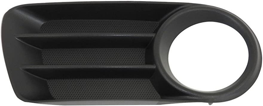 FORD FOCUS 2011-2014 FOG LIGHT COVER  W//O LAMP HOLE BLACK PASSENGER SIDE NEW