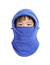 Baby Girls Boys Winter Warm Full Face Neck Cover Mask Balaclava Hat CS Mask