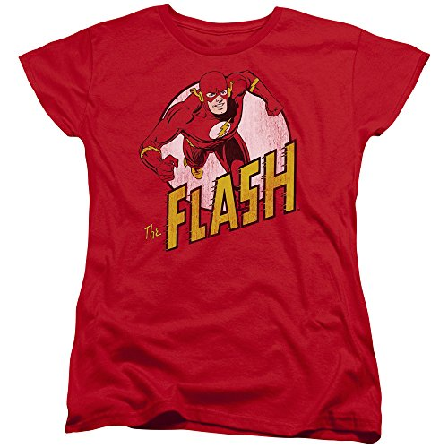 Womens: The Flash - The Flash Ladies T-Shirt Size (Ladies Flash)