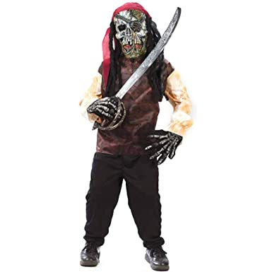 Amazon kids easy pirate costume sizemedium 8 10 clothing kids easy pirate costume sizemedium solutioingenieria Image collections