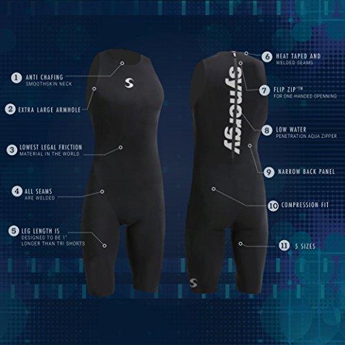 Triathlon Swimskin Men's Synergy SynSkin2 Skinsuit