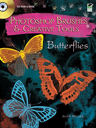 Butterfly Clipart - Photoshop Brushes & Creative Tools: Butterflies (Electronic Clip Art Photoshop Brushes)