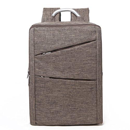 Sport Computer Travel Outdoor Backpack (Khaki) - 5