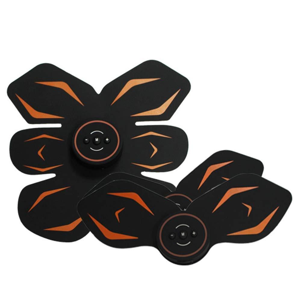 EMS Smart Wiederaufladbare Fitness Instrument Multifunktions Silikon Home Abnehmen Fett ROTuzierende Übung Fitnessgeräte Bauchmuskel Stimulator
