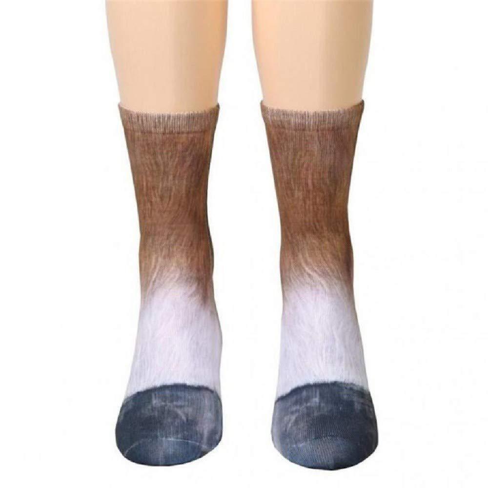 Kinlene 6-12 años de edad, niños, niños, animales, pata, tripulación, calcetines, impresión sublimada.: Amazon.es: Ropa y accesorios