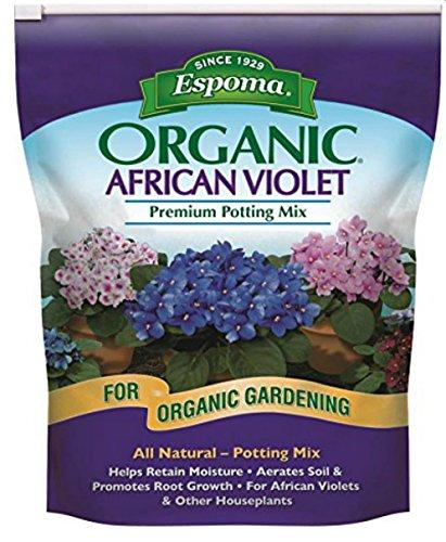 Espoma Organic African Violet Potting Soil, 4-Quart