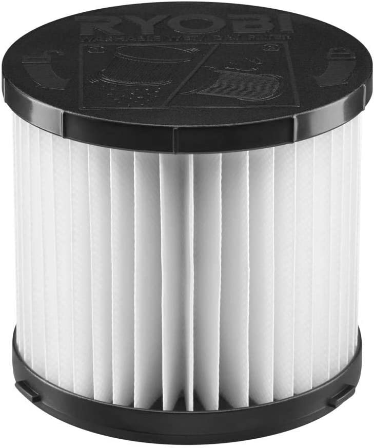 RYOBI A32VC05 18-Volt ONE+ 3 Gal. Wet/Dry Vacuum Replacement Filter for Model P3240