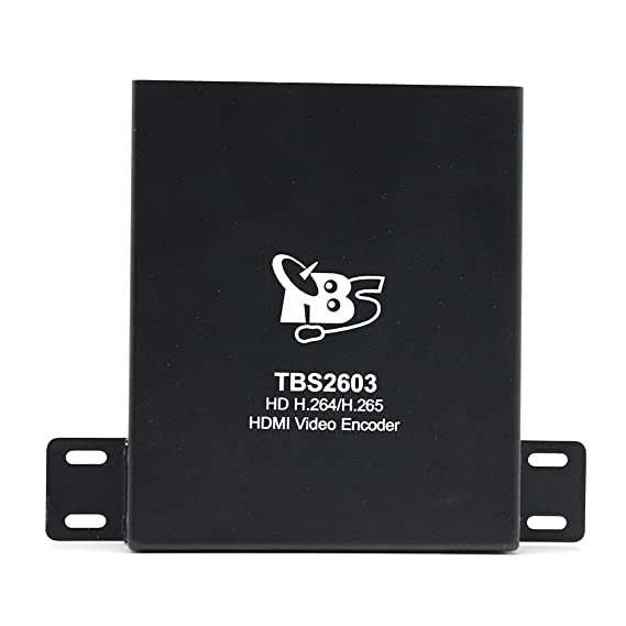 HD HDMI Encoder, TBS 2603 H 264/H 265 Video Encoder Support RTSP, RTP,  RTMP, HTTP, UDP Protocol and ONVIF for IPTV, Video Conference, Hotel TV  system,