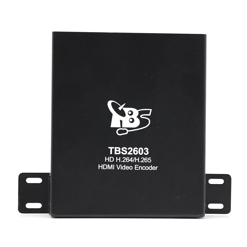 HD HDMI Encoder, TBS 2603 H.264/H.265 Video Encoder Support RTSP, RTP, RTMP, HTTP, UDP Protocol and ONVIF for IPTV, Video Conference, Hotel TV system, Live Broadcast, Recording System