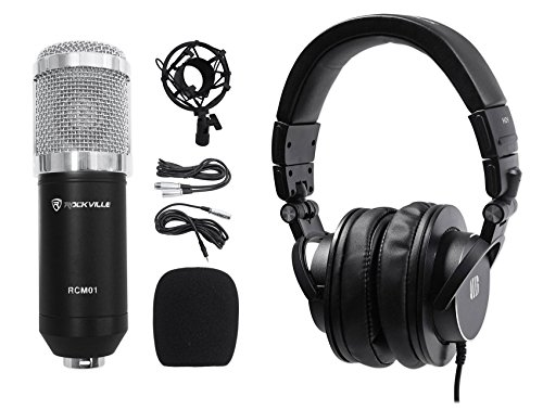 Presonus HD9 Pro Closed-back Studio Reference Monitoring Headphones+Microphone by PreSonus