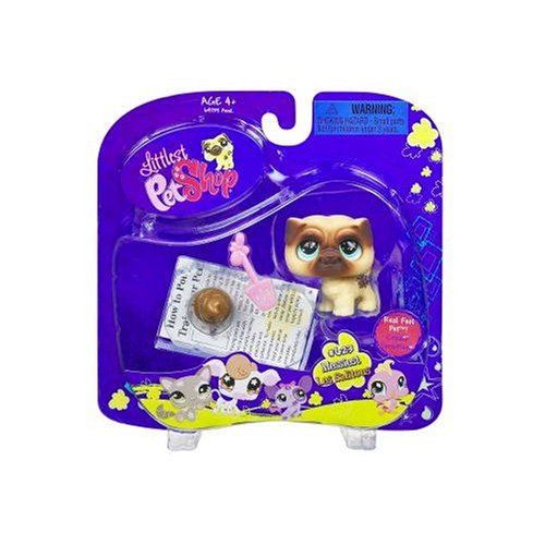 Littlest Pet Shop Pug Dog with Accessory