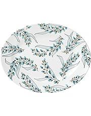 Lenox Goldenrod Oval Platter, White