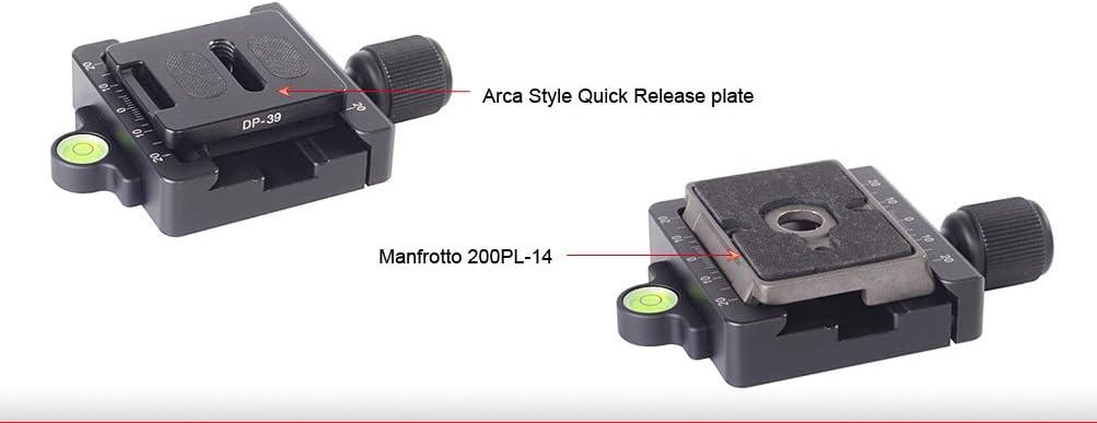 Convert 200pl-14 RC2 for Tripod Head Sunway Boss Adapter /& MAC-14 60mm Clamp Arca QR Compatible