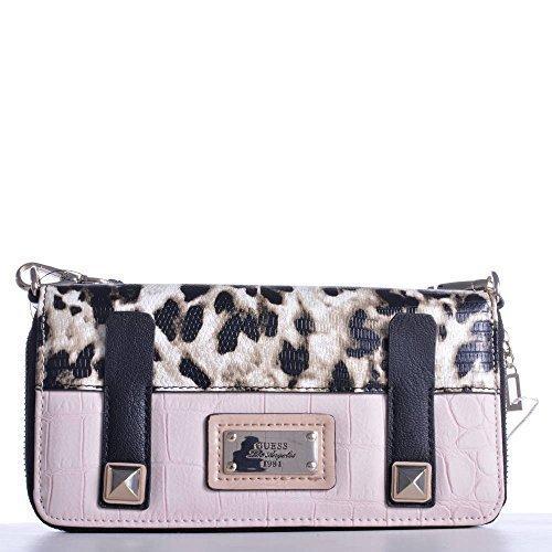 Guess cartera Jizelle Zip Around organizador 69 SWC49252500 Light Rose litros bolsa de mujer: Amazon.es: Zapatos y complementos
