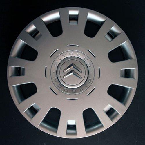 Wheeltrims Set de 4 embellecedores Citroen C4/C1/C2/C3/C5/C8/Nemo/Berlingo/Xsara Picasso con Llantas Originales de 15