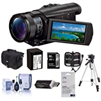 Sony HDR-CX900 Full HD Handycam Camcorder With Upgrade Accessory Bundle