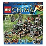 Lego LEGO 70014 Cima CHIMA crocodile family-hideaway fortress The Croc Swamp Hideout overseas direct delivery products and parallel import goods