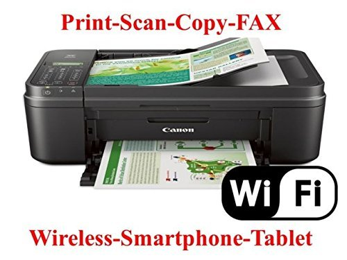 Pixma Mx492 Wireless All-In-One Photo Inkjet Printer, Copy/Fax/Print/Scan by Canon, Inc