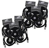 XSPRO XSPDMX3P10 3 Pin DMX Light Cable 10' - 10PAK