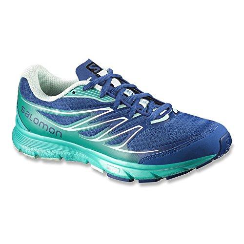 Salomon Women's Sense Link Running Shoes red Gentiane / Teal Blue F / Igloo Blue OyFzcv09