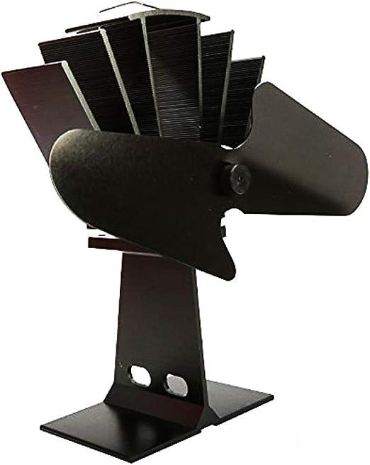 non-brand Sharplace Ventilador de Estufa de 15 cm para Chimenea de ...