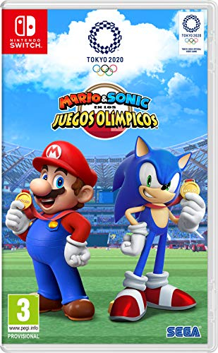 Mario & Sonic en las Olimpiadas de Tokyo 2020
