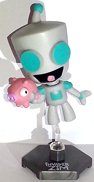 Amazon.com: Invader Zim Original Series 1 Happy Robot Form Gir ...