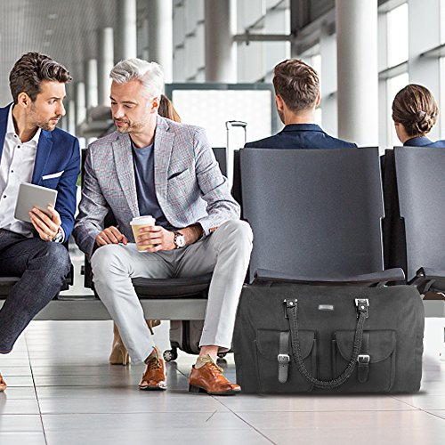 Two-In-One Convertible Travel Garment Bag Carry On Suit Bag, Easily Transforms Into a Sports Duffel by GYSSIEN (Image #6)