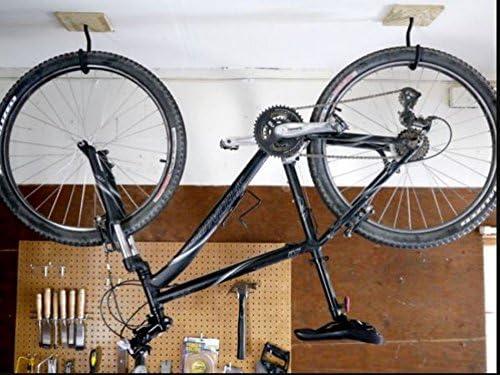 Set of 8 Bicycle Storage Hooks Garage Bike Ceiling Tool Hangers Wall Mount Hose