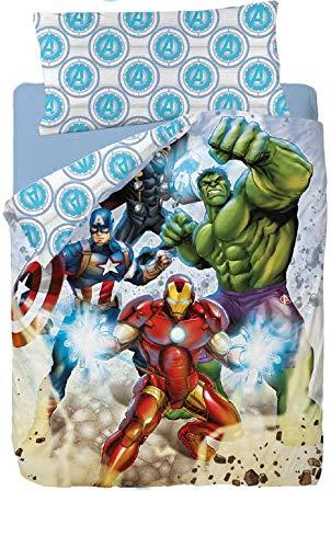.Los Vengadores Saco Nórdico Avengers Strike Ideal para Literas y Camas Nido de 90cm: Amazon.es: Juguetes y juegos