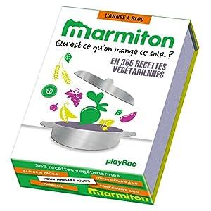 Calendrier 365 recettes Marmiton spécial végétariens – L'Année à Bloc
