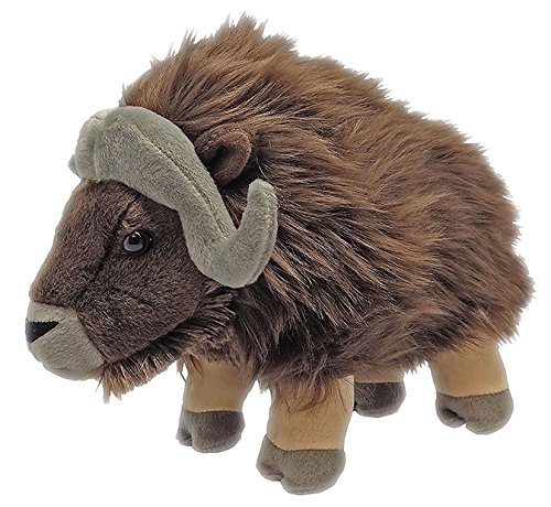 Wild Republic Musk Ox Plush  Stuffed Animal  Plush Toy  Gifts For Kids  Cuddlekins 12 Inches