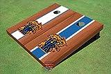 University of Kentucky ''Wildcat'' Rosewood Alternating Long Stripe Cornhole Boards - Uk-2122