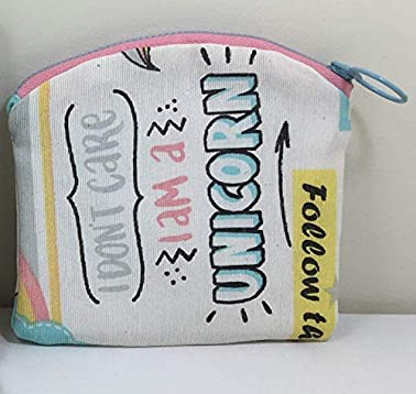 Bolso de mano Unicornio con monedero a juego, hecho a mano ...