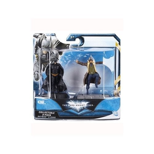 Batman The Dark Knight Rises Batman with Bane 2.5 inch Action Figure 2-Pack