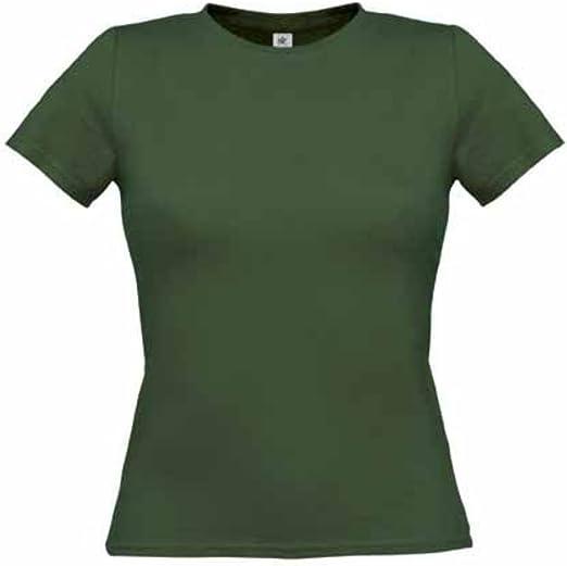 B&C - Camiseta de mujer sólo para mujeres, Muchos Colores ...