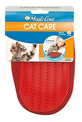 Love Glove Grooming Mitt for Cats, Purple