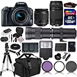 Canon EOS Rebel SL2 DSLR Camera with 18-55mm EF-S F/4-5.6 is STM...