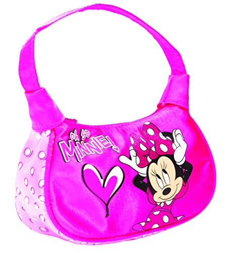 Disney Borsa Messenger, rosa (Multicolore) - 491506U