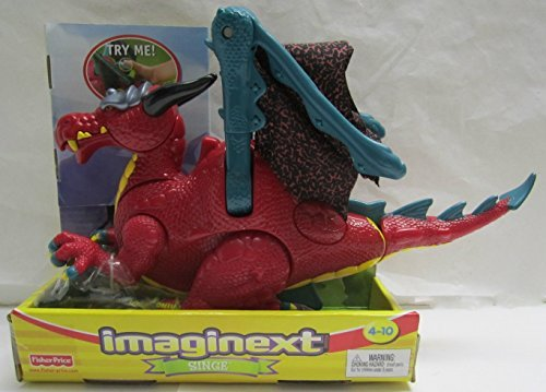 Imaginext Singe Dragon Figure -