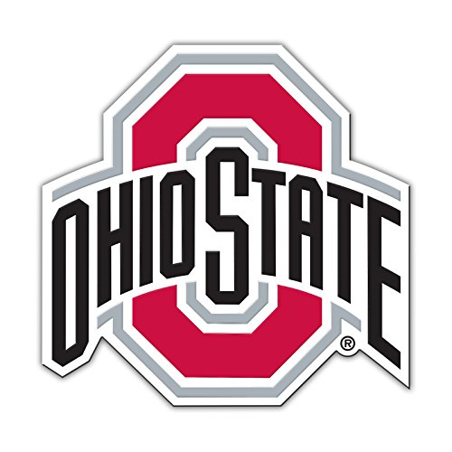 (NCAA Authentic Jumbo Auto Magnet (Ohio State)