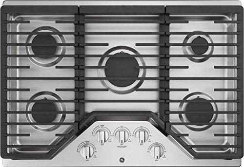 ge 30 gas 5 burner cooktop - 7